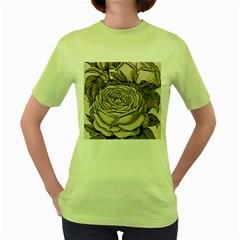 Flowers 1776630 1920 Women s Green T Shirt