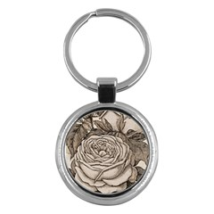 Flowers 1776630 1920 Key Chains (round)