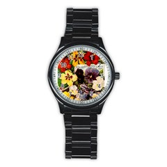Flowers 1776534 1920 Stainless Steel Round Watch
