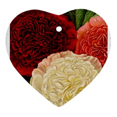 Flowers 1776584 1920 Heart Ornament (two Sides)