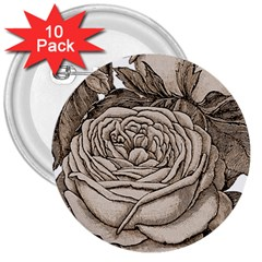 Flowers 1776626 1920 3  Buttons (10 Pack)
