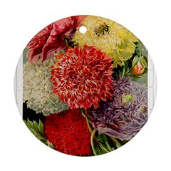 Flowers 1776541 1920 Ornament (round)