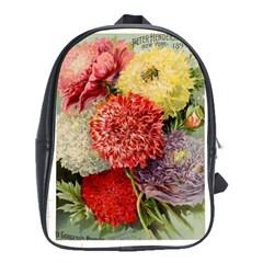 Flowers 1776541 1920 School Bag (xl)