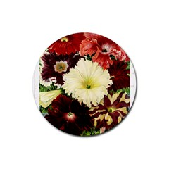 Flowers 1776585 1920 Rubber Coaster (round)