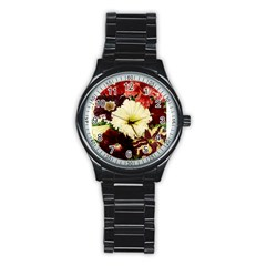 Flowers 1776585 1920 Stainless Steel Round Watch