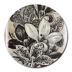 Flowers 1776382 1280 Round Mousepads