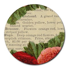 Flowers 1776422 1920 Round Mousepads