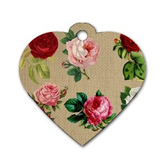 Flower 1770189 1920 Dog Tag Heart (one Side)