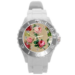 Flower 1770189 1920 Round Plastic Sport Watch (l)