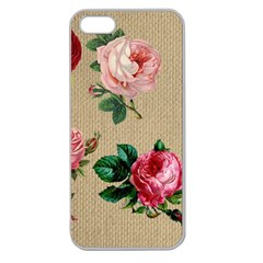 Flower 1770189 1920 Apple Seamless Iphone 5 Case (clear)