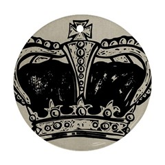 Crown 1515871 1280 Round Ornament (two Sides)