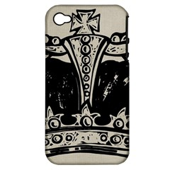 Crown 1515871 1280 Apple Iphone 4/4s Hardshell Case (pc+silicone)