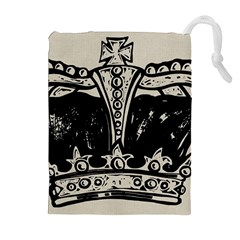 Crown 1515871 1280 Drawstring Pouches (extra Large)