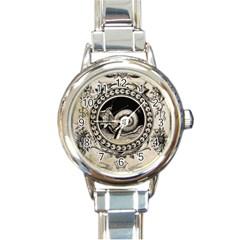 Snail 1618209 1280 Round Italian Charm Watch