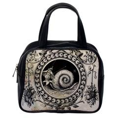 Snail 1618209 1280 Classic Handbags (one Side)