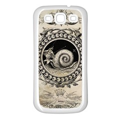 Snail 1618209 1280 Samsung Galaxy S3 Back Case (white)