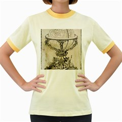 Globe 1618193 1280 Women s Fitted Ringer T Shirts