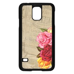 Flower 1646069 1920 Samsung Galaxy S5 Case (black)