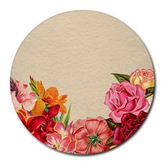 Flower 1646035 1920 Round Mousepads
