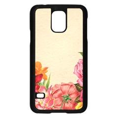 Flower 1646035 1920 Samsung Galaxy S5 Case (black)