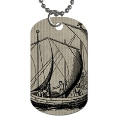Ship 1515875 1280 Dog Tag (two Sides)