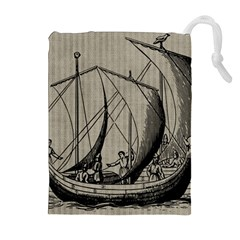 Ship 1515875 1280 Drawstring Pouches (extra Large)