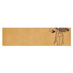 Flapper 1515869 1280 Satin Scarf (oblong)
