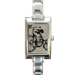 Tricycle 1515859 1280 Rectangle Italian Charm Watch