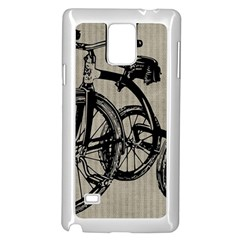 Tricycle 1515859 1280 Samsung Galaxy Note 4 Case (white)