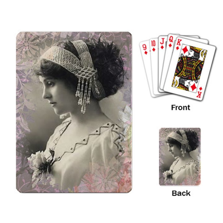 Vintage 1501540 1920 Playing Card