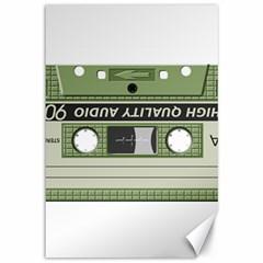 Cassette  Canvas 12  X 18