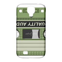 Cassette  Samsung Galaxy S4 Classic Hardshell Case (pc+silicone)