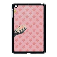 Vintage Lady Apple Ipad Mini Case (black)