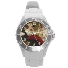 Vintage 1501598 1280 Round Plastic Sport Watch (l)