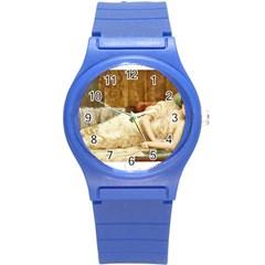 Vintage 1501595 1920 Round Plastic Sport Watch (s)