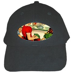 Retro Children Black Cap