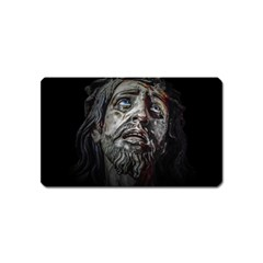 Jesuschrist Face Dark Poster Magnet (name Card)