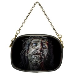 Jesuschrist Face Dark Poster Chain Purses (one Side)