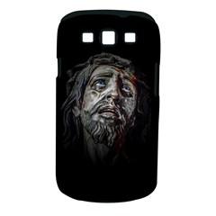 Jesuschrist Face Dark Poster Samsung Galaxy S Iii Classic Hardshell Case (pc+silicone)