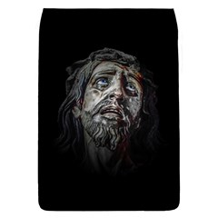Jesuschrist Face Dark Poster Flap Covers (l)