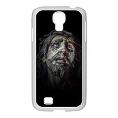 Jesuschrist Face Dark Poster Samsung Galaxy S4 I9500/ I9505 Case (white)