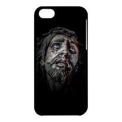 Jesuschrist Face Dark Poster Apple Iphone 5c Hardshell Case