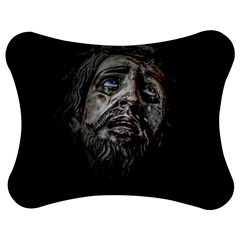Jesuschrist Face Dark Poster Jigsaw Puzzle Photo Stand (bow)