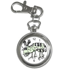 Monster Rat Pencil Drawing Illustration Key Chain Watches