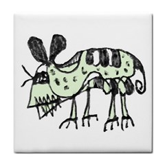 Monster Rat Pencil Drawing Illustration Face Towel