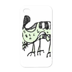 Monster Rat Pencil Drawing Illustration Apple Iphone 4 Case (white)