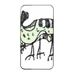 Monster Rat Pencil Drawing Illustration Apple Iphone 4/4s Seamless Case (black)