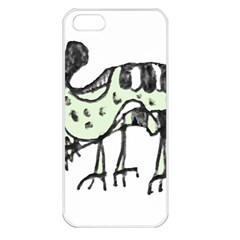 Monster Rat Pencil Drawing Illustration Apple Iphone 5 Seamless Case (white)