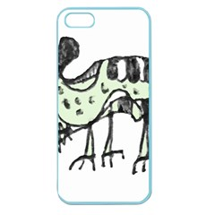Monster Rat Pencil Drawing Illustration Apple Seamless Iphone 5 Case (color)