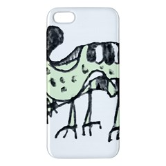 Monster Rat Pencil Drawing Illustration Apple Iphone 5 Premium Hardshell Case